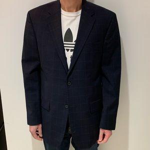 Nautica Navy Blue Box Suit
